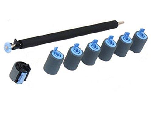 HP Maintenance Roller Service Kit für HP Laserjet 4100 Serie, bestehend aus 1x Transferrolle RG5-5295, 4x Feed Roller RF5-3114, 1x Pickup Roller Tray 1 RG9-1529 (RG5-3718) (4100-feed)