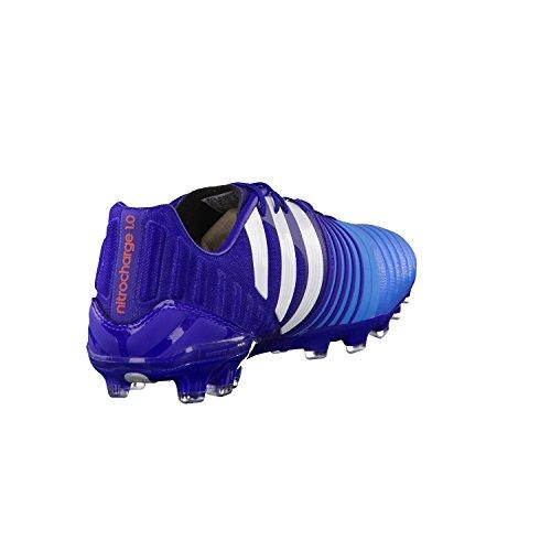 adidas Performance Nitrocharge 1.0 AG Herren Fußballschuhe amazon purple f14/ftwr white/solar blue2 s14
