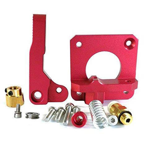 Extrudeuse de rechange MK8 en aluminium – Mise à niveau – Pour imprimantes Creality CR-10,CR-10S, CR-10S4,CR-10S5 –Hictop