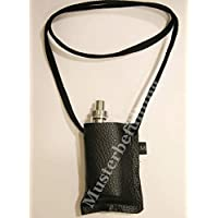 Umhängetasche Etui für e-Zigarette Ledertasche Brustbeutel passend z.B. für PICO 75und andere e Zigaretten, eShisha, e-Zigarette