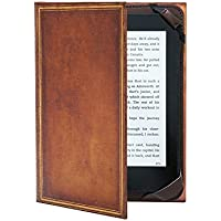 "KleverCase ""My Book Vintage Hardback"" Book Cover for Amazon Kindle, Paperwhite and Touch Screen e-Readers"