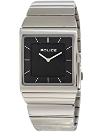 Police Skyline M P12669MS-02M - Reloj unisex de cuarzo, correa de acero inoxidable color plata