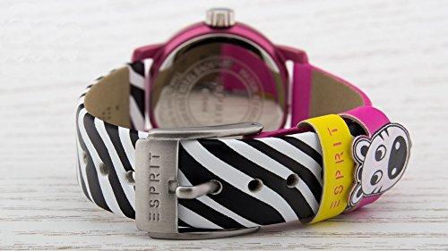 Esprit Mädchen Armbanduhr Datum klassisch Quarz Leder ES106414031 - 2