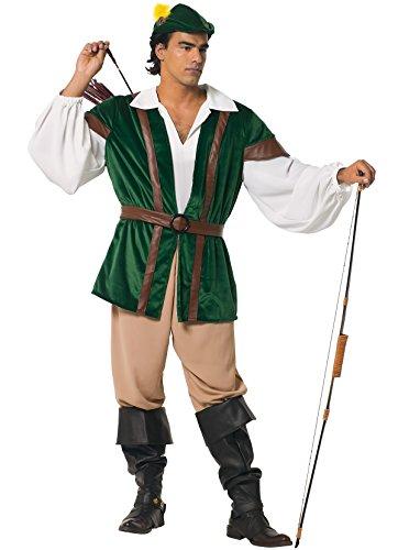 Unbekannt Stamco, Robin Hood Kostüm für Herren
