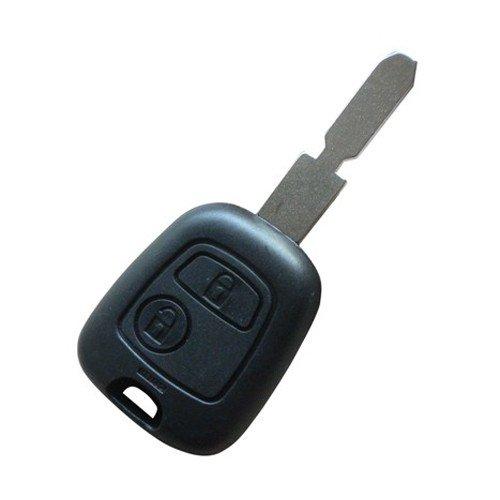 Clé Peugeot - 106 107 206 207 307 Télécommande - PLIP COQUE Voiture Boitier