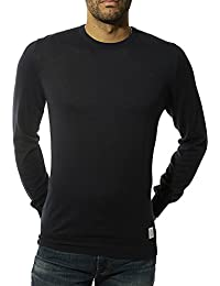 Pepe Jeans Yul Solid Homme Pull Marine