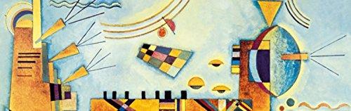 Wassily Kandinsky - Dolce Evento, 1928, 1 Parte Carta da Parati Adesiva (240 x 75cm)