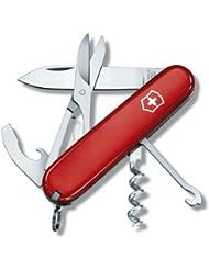 """VICTORINOX Couteau d'officier """"compact""""rouge"""