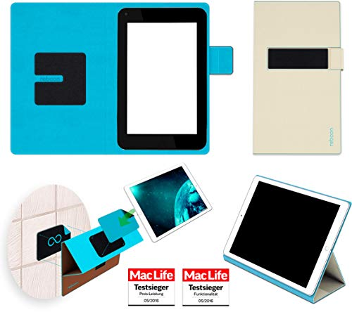 reboon Hülle für HP Slate 7 Plus Tasche Cover Case Bumper   in Beige   Testsieger