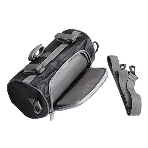 waterfail Motorcycle Roll Bag, 2.5L, Bolsa De Herramientas para Motos O Bolsa De Horquillas Delanteras Almacenamiento De Equipaje, Bolsa De Almacenamiento para Harley