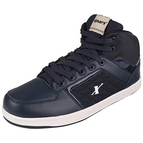 Sparx Men's Blue Colour Sm250 Series Synthetic Casual Shoes