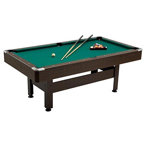 VIRGINIA 6 Tavolo Biliardo gioco dimensioni 180x90 cm, Garlando, TABLE, POOL