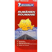 Rumänien (Michelin Nationalkarte)