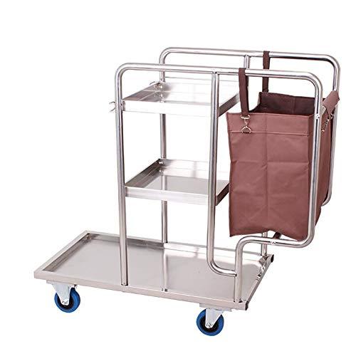 Hohe Kommerzielle Regale (Kommerzielles Hochleistungs-Multifunktions-Zimmerreinigungsauto mit Sortierwagen für rollende Räder, robust, 300 kg tragend (Farbe : Style 2))