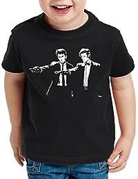 style3 Who Time Fiction T-Shirt pour enfants