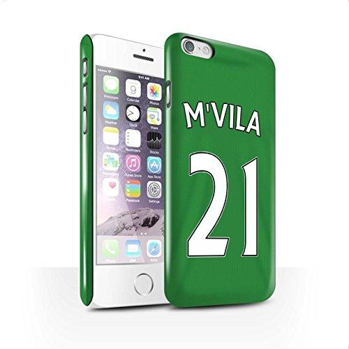 Offiziell Sunderland AFC Hülle / Glanz Snap-On Case für Apple iPhone 6 / Pack 24pcs Muster / SAFC Trikot Away 15/16 Kollektion M'Vila