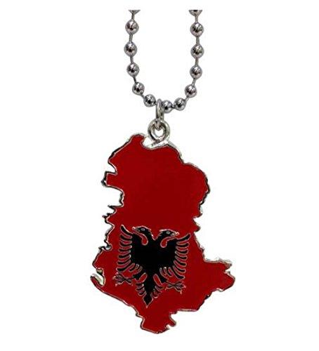 ALBANIEN - Halskette Anhänger