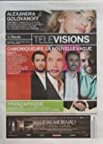 MONDE TELEVISION (LE) du 06/12/2010 - ALEXANDRA GOLOVANOFF - CHRONIQUEURS LA NOUVELLE VAGUE / BEN - NICOLAS BEDOS - MATHIEU MADENIAN ET LE COMTE DE BOUDERBALA - FRANCAFRIQUE / DOCUMENTAIRE