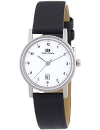 Danish Design Damen-Armbanduhr XS Analog Quarz Leder 3326033
