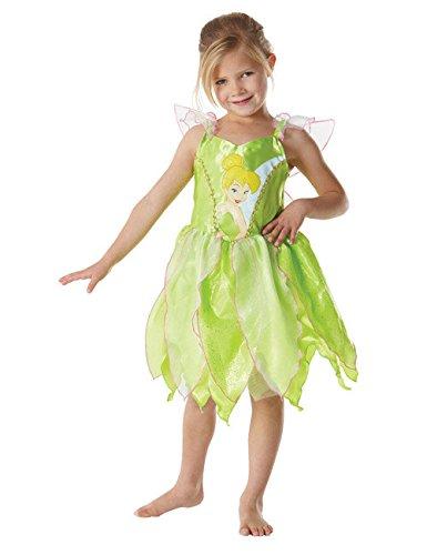 Tinkerbell Disney Fee Elfe Kinderkostüm lindgrün S