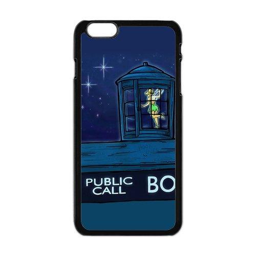 iPhone 6Plus Coque de protection en TPU pour, Customize Tinker Bell Case for iPhone 6Plus, [Tinker Bell] Transparent Back Cover étui en silicone pour iPhone 6Plus 5,5