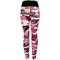 Chettova Mujeres Moda Gimnasio Yoga Pantalones atléticos Ejercicio Fitness Deporte Polainas