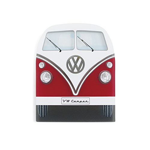 VW Collection by Brisa Eiskratzer im Design der VW Bulli T1 Front in Rot