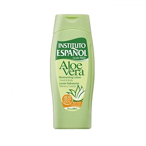 Instituto ESPAÑOL, Aloe Vera Körperlotion, unisex, 1er Pack (1 x 500 ml)