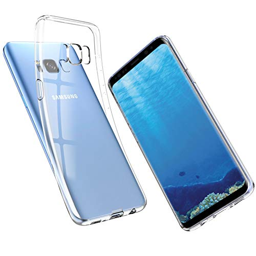 UNBREAKcable Cover Samsung Galaxy S8 - Custodia Samsung Galaxy S8 [Supporta la Ricarica Wireless] Silicone Ultra Sottile Case per Samsung Galaxy S8 - Cristallo Trasparente