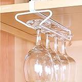 2 Pack Gläserhalter Gläserschiene Weinglashalterung Hangers