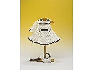 Mariquita Pérez- Beig Topos Marron Complementos, Color Vestido de colección diseño Propio (Comercial de Juguetes Maripe SL 1)