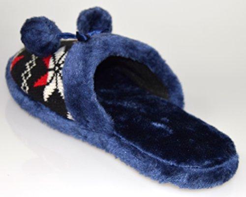 Unbekannt, Pantofole donna Nero (nero)