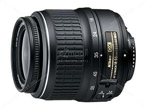 Nikon AF-S DX Nikkor 18-55mm F/3.5-5.6G VR Zoom Lens for Nikon DSLR Camera