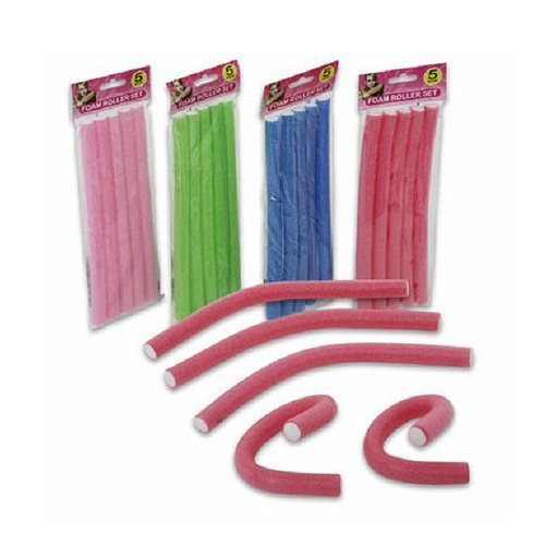 """9"""" Spiral Hair Foam Curler Roller Set..."""