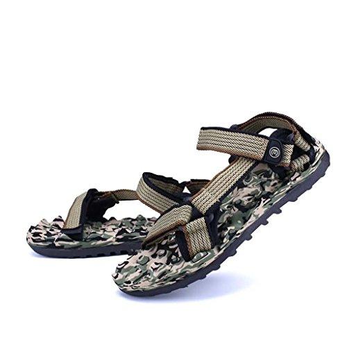 ZXCV Scarpe all'aperto Scarpe da uomo all'aperto degli uomini scarpe da spiaggia traspiranti Marrone