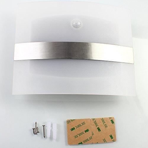 Elinkume Superhelles kabellos licht LED Nachtlicht Wandleuchten batteriebetriebene Menschliche Infrarot-Sensor Badezimmer Licht Kabinett Licht [Energieklasse A+++]