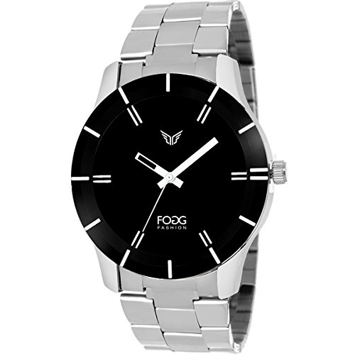 Fogg Analog Black Dial Men's Watch -2004-BK