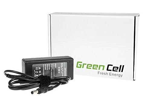 Green Cell® Netzteil / Ladegerät inkl. Stromkabel für Notebook / Laptop HP 15-AY046NG (Ausgangsspannung: 19.5V 3.33A 65W, Steckermaße: 4.5-3.0mm mit Stift nach