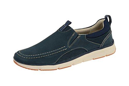 Clarks Shoes Orson Row Blau