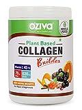 OZiva Plant Based Collagen Builder for Anti-Aging Beauty, Skin Repair & Regeneration