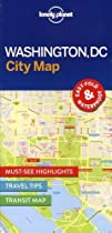 Lonely Planet Washington DC City Map (Travel Guide)