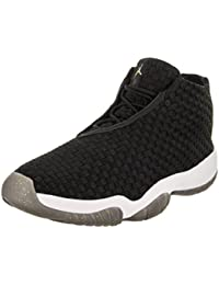 54fccda677d4 Jordan Nike Men s Air Future Black Black White Casual Shoe 13 Men US