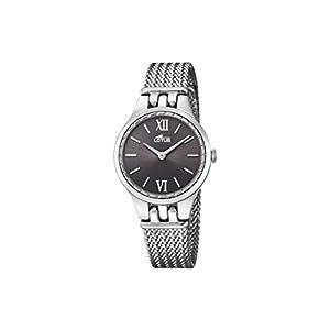 Lotus Watches Reloj Análogo clásico para Mujer de Cuarzo con Correa en Acero Inoxidable 18446/2