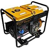 Generador eléctrico 6KW - Diesel - Grupo electrógeno - Arranque eléctrico / manual