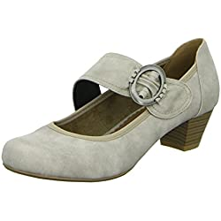 living Updated BST026 Damen Pumps mit Riemen eleganter Boden , Größe 39.0