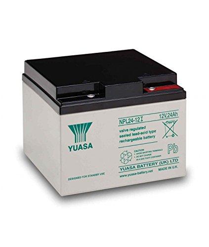 Yuasa - 12V 24Ah NPL24-12I Yuasa batteria piombo - NPL24-12I