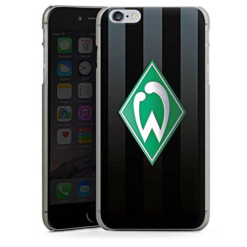 Apple iPhone 8 Hülle Case Handyhülle Werder Bremen Fanartikel SV Fußball Hard Case anthrazit-klar