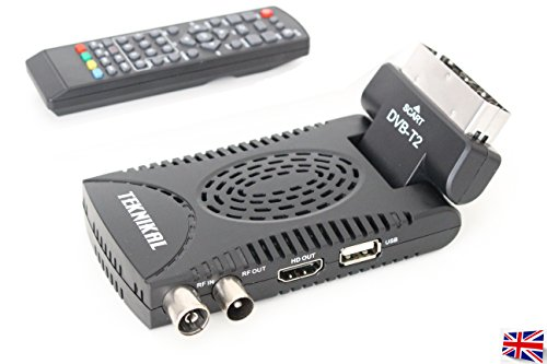 Scart Freeview, Digital HD TV Re...