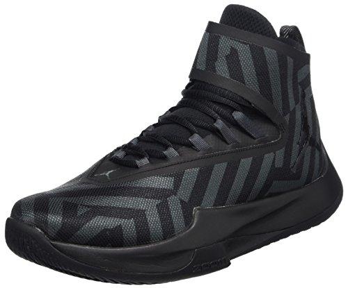 Nike Herren Jordan Fly Unlimited Basketballschuhe, Grau (Anthraciteblackblackblack 012), 40 EU (Schuhe Für Männer-nike Air Jordan)
