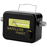 SF-9501 Buscador de medidor de Nivel de medidor de señal de satélite Digital de plástico con Pantalla LCD 950-2150MHz Negro